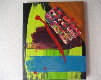 Dream Abstract Art, Original Painting, Abstract Canvas Art, Women Empowerment, Original Art, Mixed Media Art