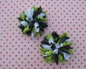 St. Patrick's Day Mini Korker Bow Set