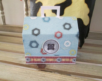 Tool Box Favor Boxes Set of 10