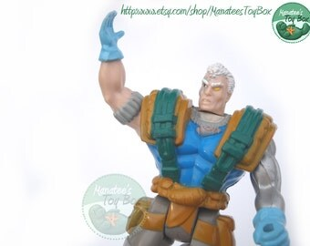 Cable Action Figure X-Men Vintage 1990s Action Figure by Toy Biz