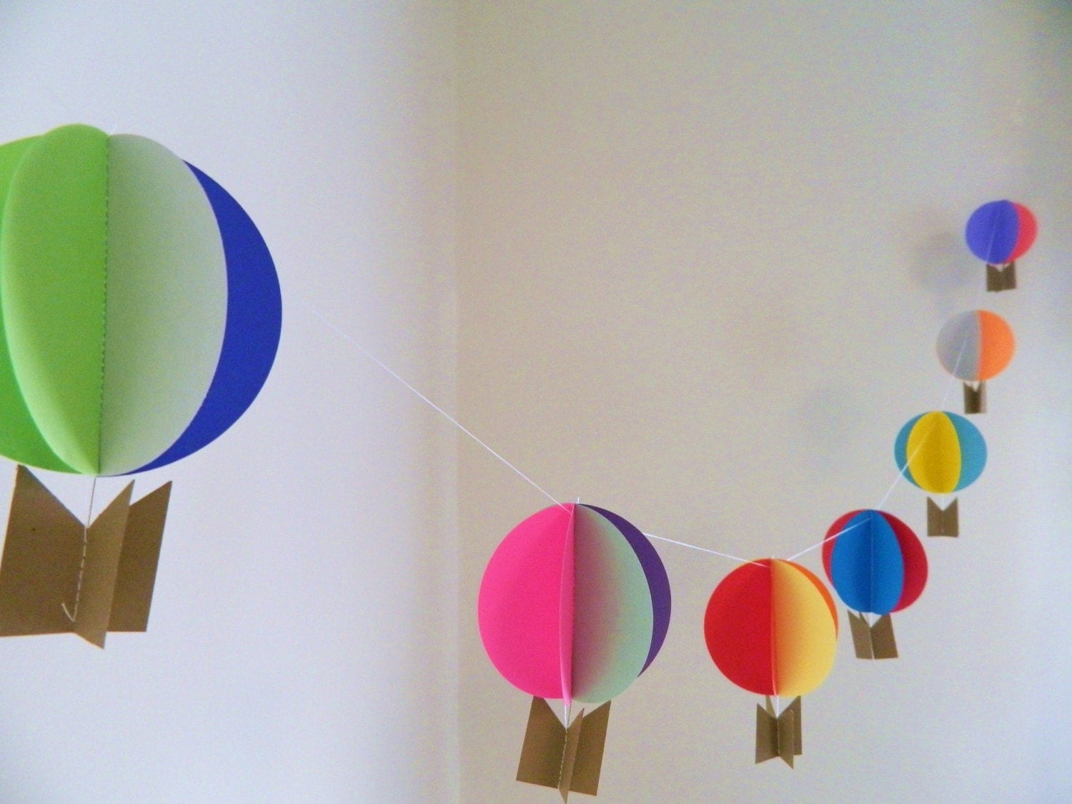 Hot Air Balloon Decorations / Up Up And Away Decorations