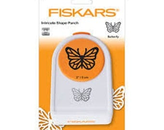 FANCY FLIER BUTTERFLY Intricate Shape Punch by Fiskars
