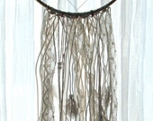 Lace and Feathers Dreamcatcher