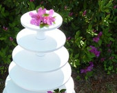 Custom Listing 6 Tier Round Combo Cupcake Stand