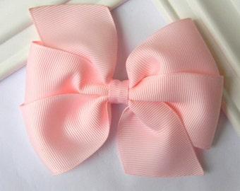 Light Pink Pinwheel Bow