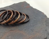 Copper Stackable Rings