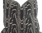 Lee Jofa Groundworks Agate Ebony Pillow Cover,  Throw Pillow, Accent Pillow, Toss Pillow, Kelly Wearstler