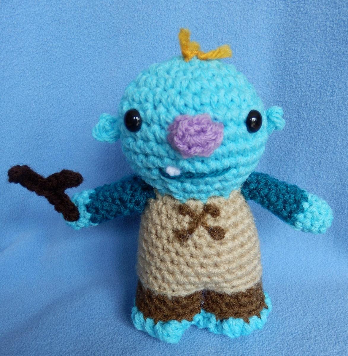 Amigurumi Doll Hands : Set of Two Made to Order Hand crocheted Wallykazam like ...
