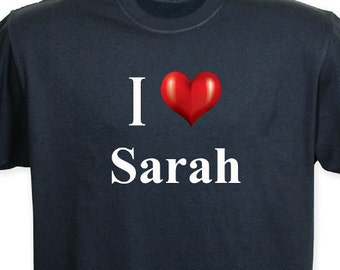 """Personalized """"I Love You"""" T-shirt -gfy33208X"""
