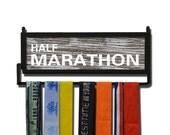 RunnersWALL Rustic Half Marathon Medal Display - [tr-10484]