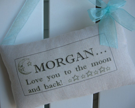 Nursery personalized baby gift hand made baby gift love you like this item negle Image collections