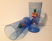 Pinnacle Tropical Punch Vodka Recycled Bottle Glasses - Set of 2
