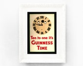 8x11 Guinness Time Print Original Advertisement Book Plate Ireland Brewerania Advert Gilroy Illustration