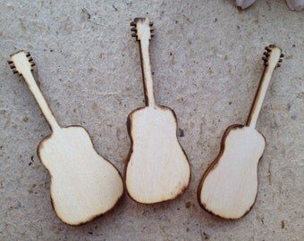 Guitar Lapel Pins for Your Groomsman SET of 3 Perfect for your Bridal Party
