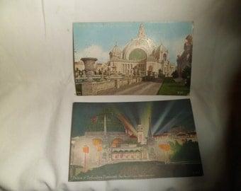 Postcards Panama Pacific Expo San Francisco 1915