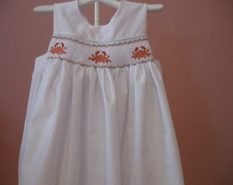Smocked Sundress size2