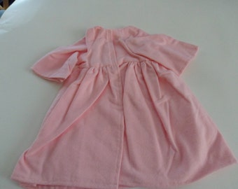 Pink Flannel Robe