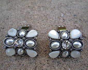 Bridal Rhinestone Shoe Clips Wedding Shoe Accessory -- PARIS DD