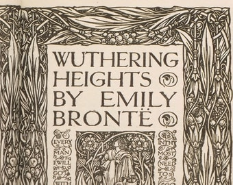 1920s Wuthering Heights by Emily Bronte