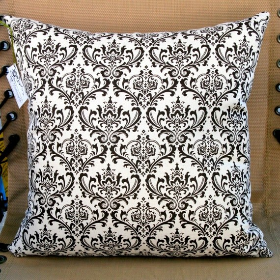 CLEARANCE- Throw Pillows- Premier Prints Brown Madison Pillow Cover- 14x14 inches- Zippered Pillow- Cushion Cover- Ready to Ship- LAST ONE