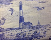 Seashore toile fabric by springs fabric