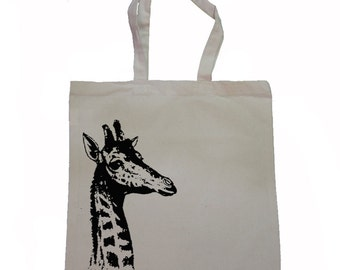 Giraffe - Canvas Tote Bag