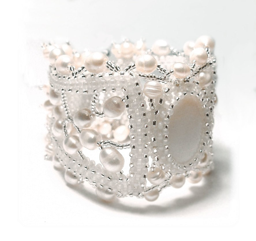 Pearl patterns seed bead jewelry natural pearls bracelet for Natural seeds for jewelry making
