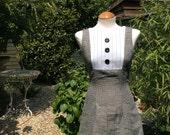 SALE - Handmade 1960s Style Mod Mini Dress Size 10