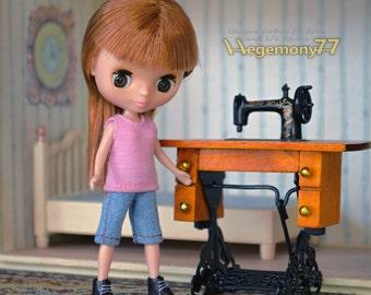 Doll clothing set for Petite Blythe, Little Pullip, Little Dall