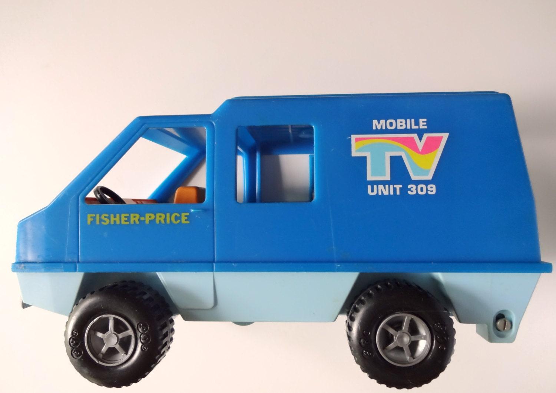 Vintage fisher price mobile tv unit toy 1977 - Mobile tv vintage ...
