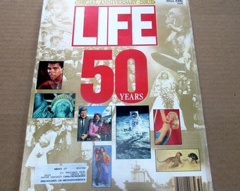 LIFE Magazine 50 Years Special Anniversary Issue