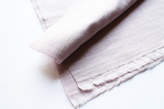 cotton double gauze fabric. japanese pure cotton fabric. soft like a cloud. 102cm (40inch) wide. sold by 100cm (39inch) long. pale lavender