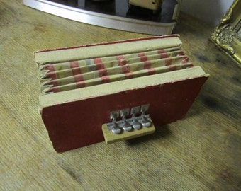 Vintage Toy Accordion.. Squeeze box Made in US Zone Germany.