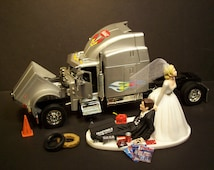 Popular Items For Semi Truck Cake On Etsy