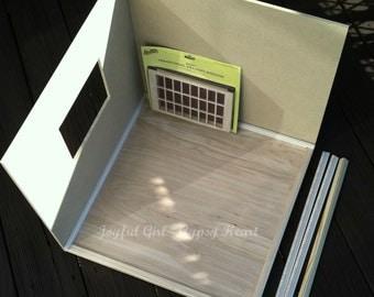 ON SALE! 1:6 DIY Roombox Kit Diorama Playscale Basic Blythe Barbie
