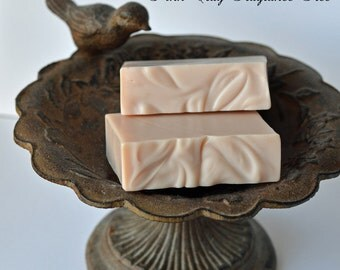 Pink Clay Soap ~ Unscented Soap, Handmade Soap, All Natural Soap, Vegan Soap, Facial Soap