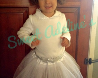 Toddler-Girls Princess Leia Costume Tutu and Hair Buns