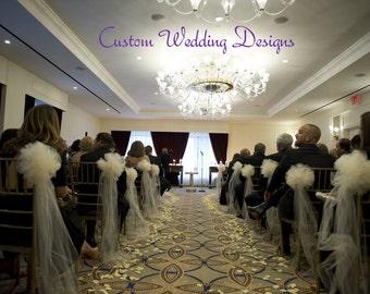 Tulle wedding decor | Etsy