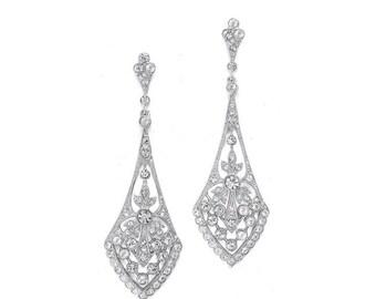 Flare Encrusted earrings