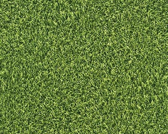 Field Turf Quilting Cotton Fabric From Robert Kaufman's Sports Life Collection