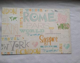 Passport Cover Travel Cities 4 Passport Cover
