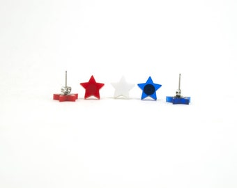Star Earrings - Handmade - Laser Cut - Laser Cut Jewelry - Summer
