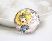 10mm 12mm 14mm 16mm 18mm 20mm 25mm 30mm Doll-Handmade Round Photo glass Cabochons (P2753)