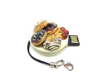 Novelty Thumbdrive Donut Plate 4Gb USB