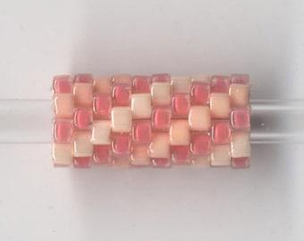 Woven Glass Bead Tube ... ... ... ... 6mm/o-2mm/i ... ... ... ... ... 10x08 * 532