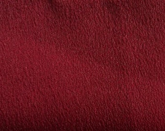 Crepe De Chine (CDC) in Burgundy