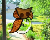 Owl with Center Bevel