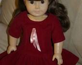 School Dress for 18 inch doll
