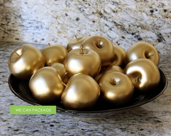 Gold Apple DIY Wedding Decoration Party Event Home Decor Birthday Royal Imperial King Queen