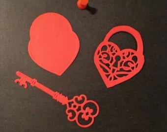 Love Locket die cuts